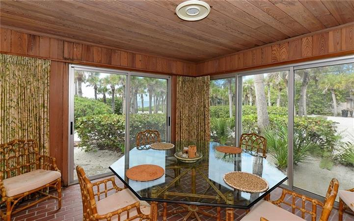Dining room in a $7,800,000 OSPREY home for sale