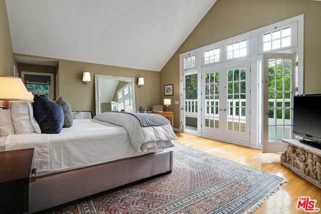 Bedroom in a $16,995,000 Santa Monica home for sale