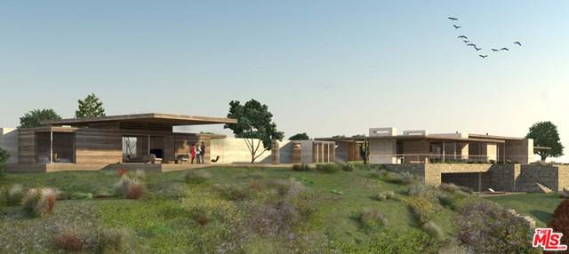Backyard in a $29,995,000 Malibu home for sale