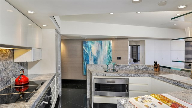 Kitchen in a $5,299,000 San Diego home for sale