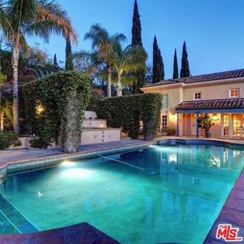 Pool in a $7,950,000 Santa Barbara home for sale