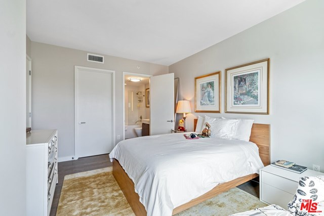 Bedroom in a $15,900,000 Santa Monica home for sale