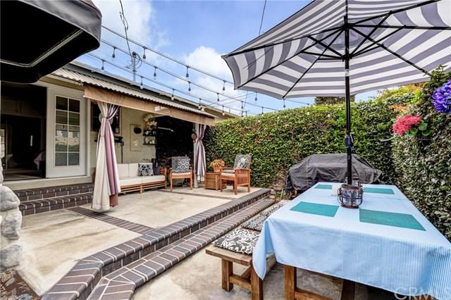 Pool in a $1,449,000 Manhattan Beach home for sale