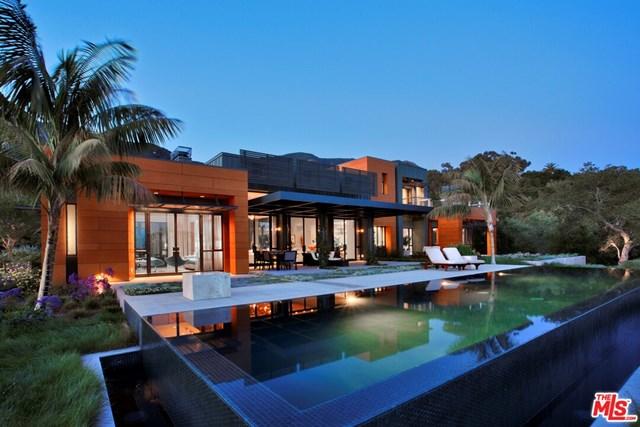 Pool in a $20,000,000 Santa Barbara home for sale