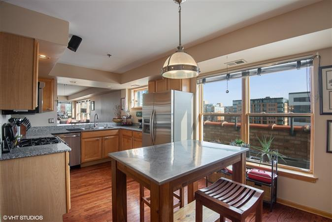 Kitchen in a $530,000 Evanston home for sale