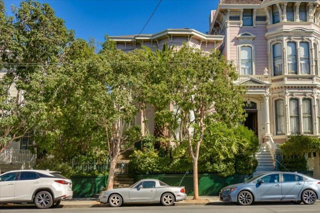 Facade in a $3,480,000 San Francisco home for sale