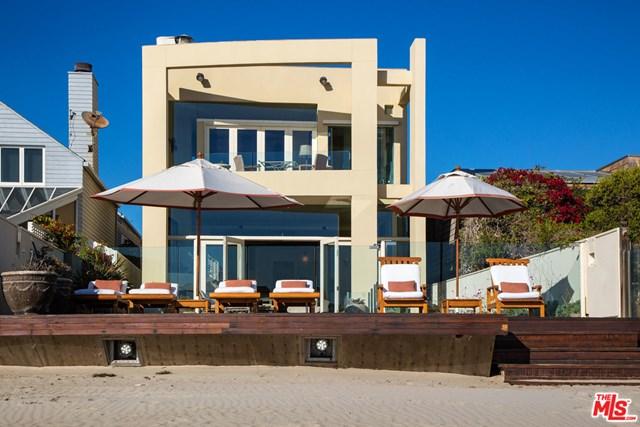 Facade in a $31,500,000 Malibu home for sale