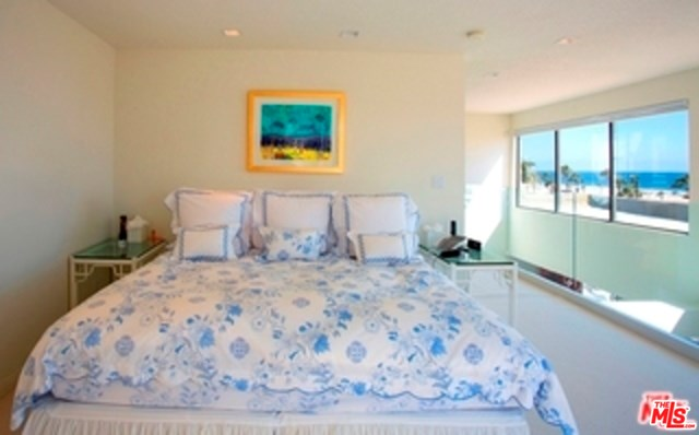 Bedroom in a $8,750,000 Santa Monica home for sale