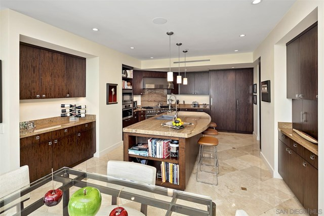 Kitchen in a $3,999,000 San Diego home for sale