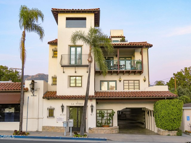 Pool in a $1,495,000 Santa Barbara home for sale