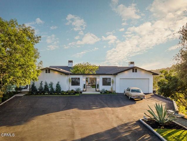 Facade in a $4,998,000 Pasadena home for sale