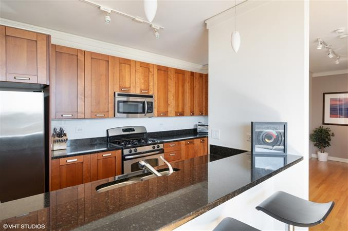 Kitchen in a $575,000 Evanston home for sale