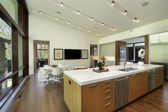 Kitchen in a $6,350,000 Glencoe home for sale