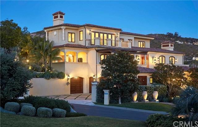 Facade in a $30,000,000 Laguna Beach home for sale