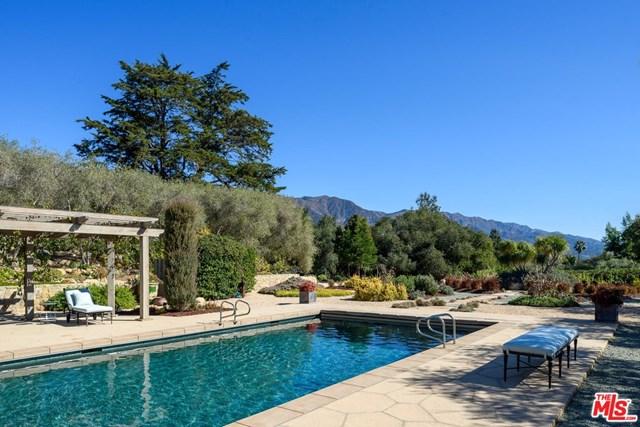 Pool in a $16,898,000 Santa Barbara home for sale