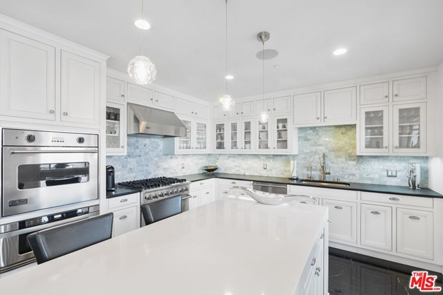 Kitchen in a $5,295,000 Los Angeles home for sale