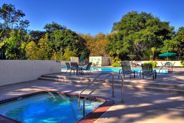Pool in a $4,995,000 Santa Barbara home for sale