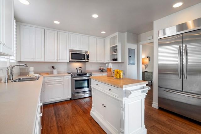 Kitchen in a $4,500,000 Santa Barbara home for sale