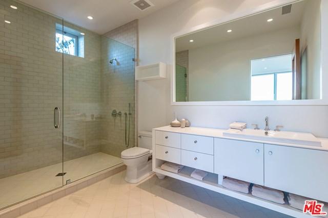 Bathroom in a $49,500,000 Malibu home for sale