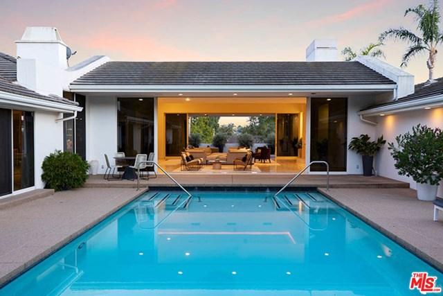 Pool in a $6,750,000 Santa Barbara home for sale