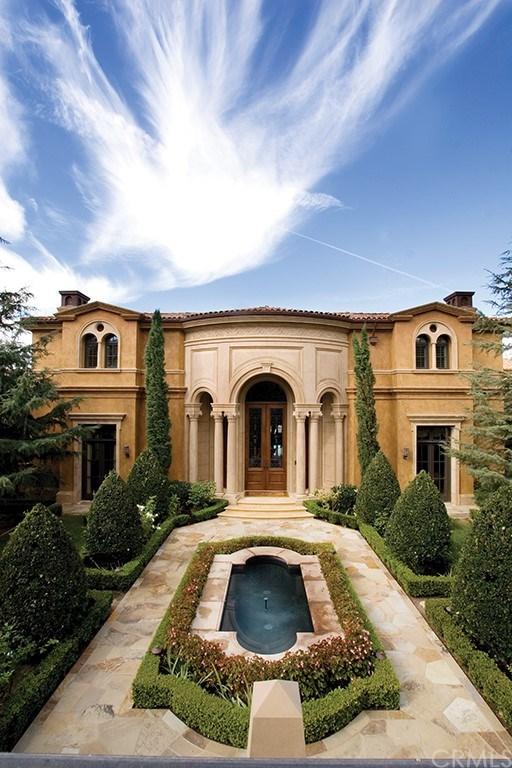 Facade in a $26,900,000 Newport Coast home for sale