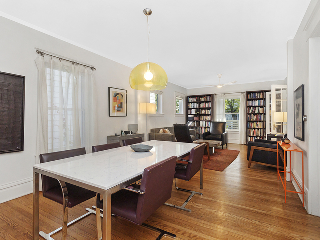 Dining room in a $850,000 Evanston home for sale