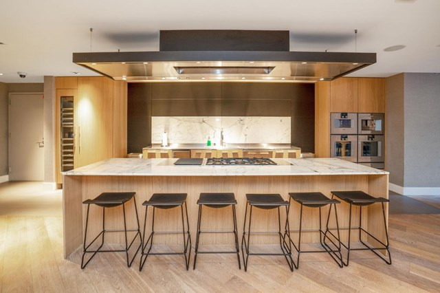 Kitchen in a $8,000,000 San Francisco home for sale