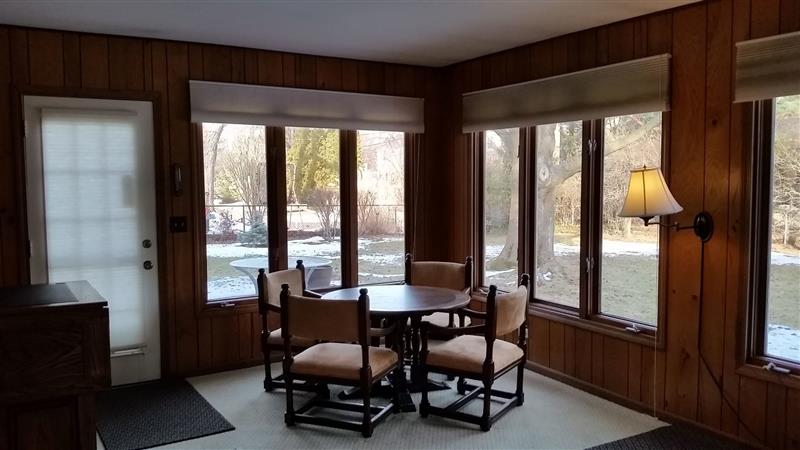 Dining room in a $860,000 Evanston home for sale