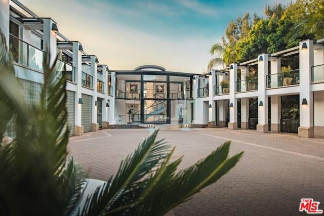Facade in a $115,000,000 Malibu home for sale