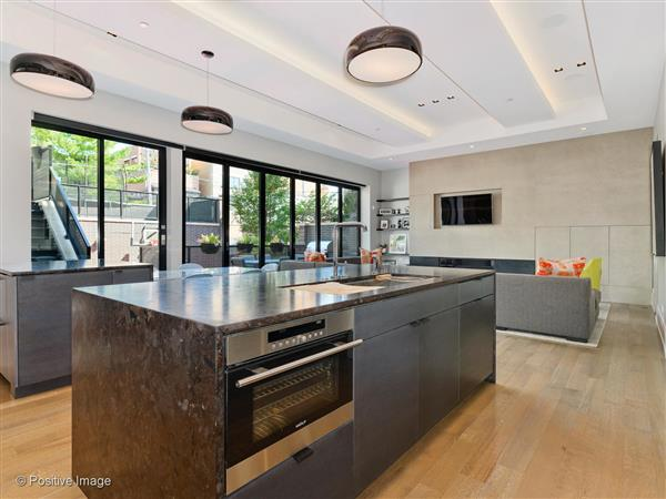Kitchen in a $6,995,000 Chicago home for sale