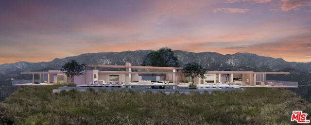Facade in a $75,000,000 Carpinteria home for sale