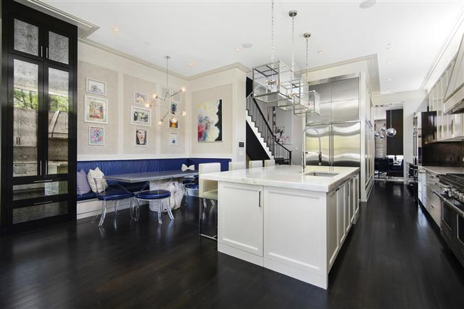 Kitchen in a $5,795,000 Chicago home for sale