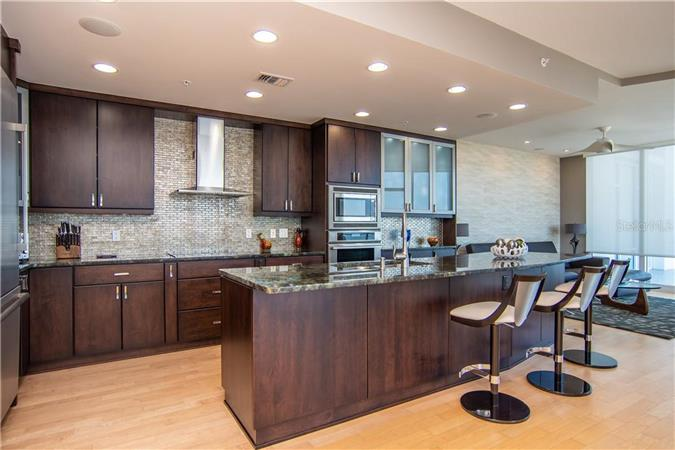Kitchen in a $2,750,000 St. Petersburg home for sale