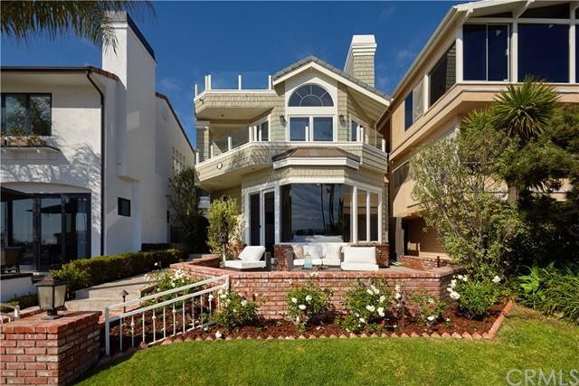 Facade in a $5,795,000 Newport Beach home for sale