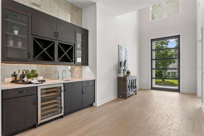 Kitchen in a $4,150,000 Tampa home for sale