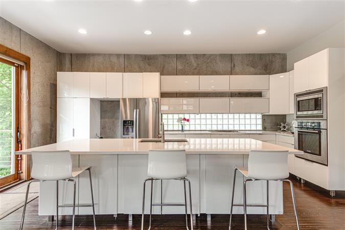 Kitchen in a $1,199,000 Evanston home for sale