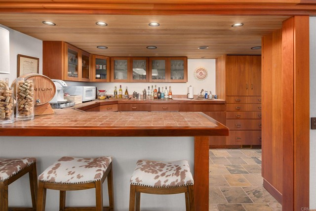 Kitchen in a $11,800,000 San Diego home for sale