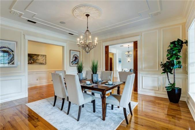 Dining room in a $4,888,000 Orlando home for sale