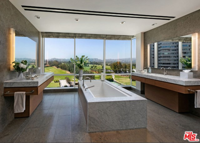 Kitchen in a $9,058,000 Los Angeles home for sale