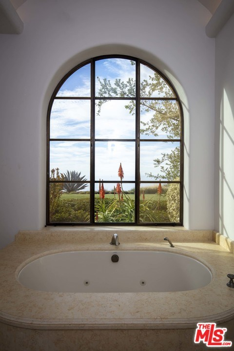 Bathroom in a $110,000,000 Goleta home for sale