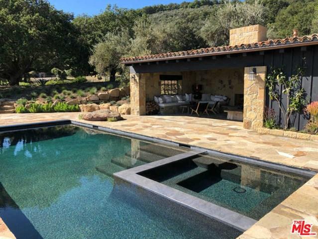 Pool in a $15,900,000 Santa Barbara home for sale